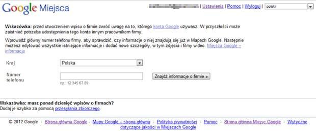 googlemaps-sprawdzanie