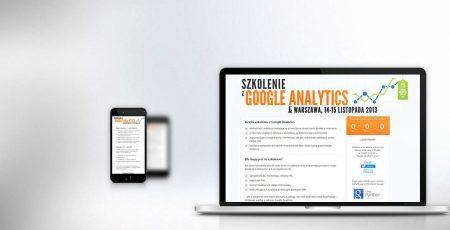 Wersja responsywna strony Akademia Analytics