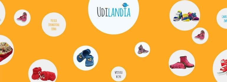 projekt graficzny sklepu internetowego udilandia.pl