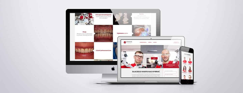 premium dent strona internetowa przychodni dentystycznej