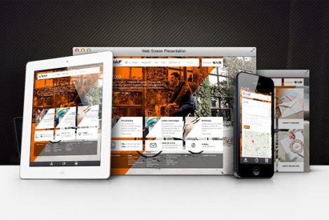 Responsywna strona internetowa enaf.pl