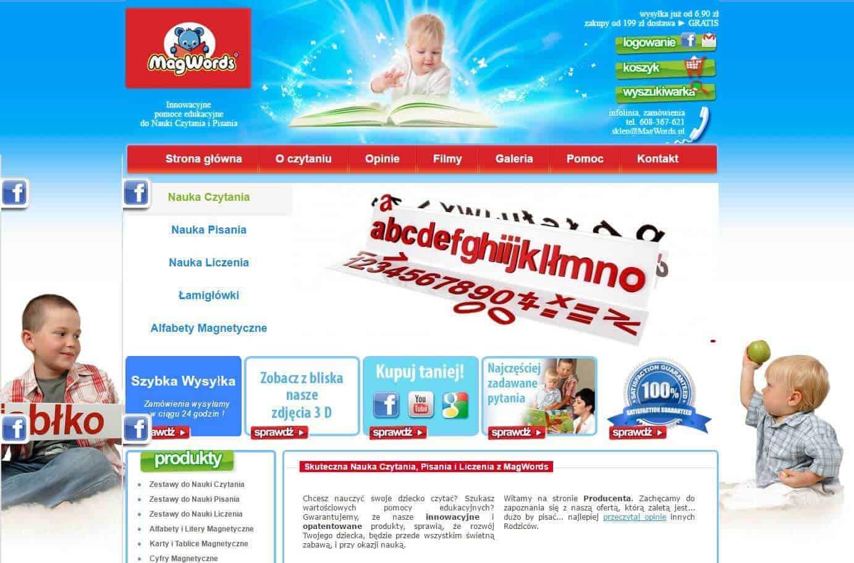 Stara wersja strony magwords.pl