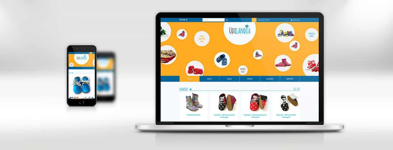 Sklep internetowy na Wordpress udilandia-pl