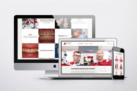 premium dent strona przychodni dentystycznej